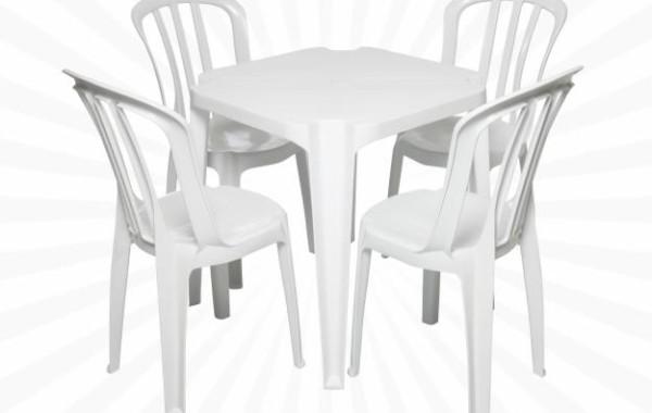 Locação de Mesas e Cadeiras de PVC