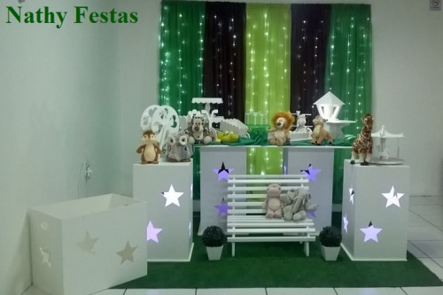 Floresta (Kit 2 com LED e Sem Balões)