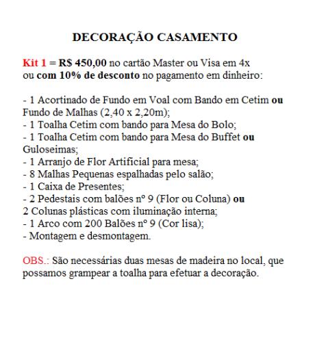Kit 1 Casam