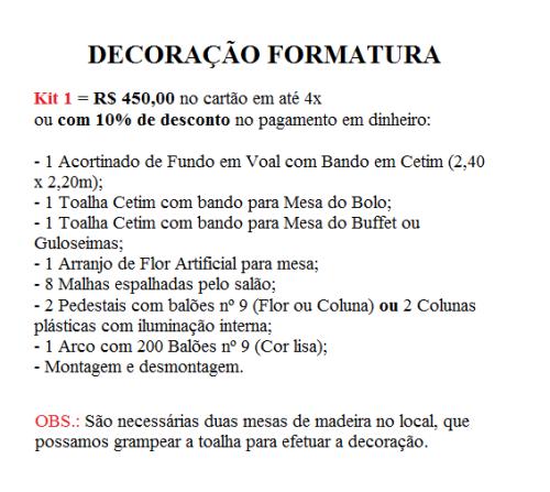 Kit 1 Form