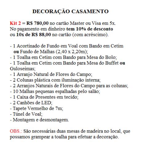 Kit 2 Casam